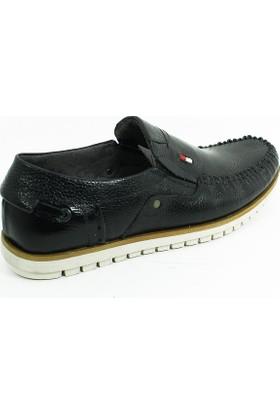 Diego Carlotti Loafer Erkek Hakiki Deri Ayakkabı-Siyah-113352-01