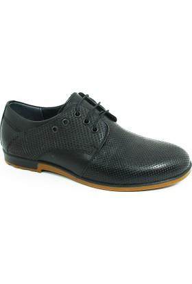 Diego Carlotti Loafer Erkek Hakiki Deri Ayakkabı-Siyah-113355-01