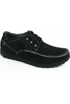 Diego Carlotti Loafer Erkek Hakiki Deri Ayakkabı-Siyah-113357-01