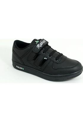 Rabum Erkek Çocuk Günlük Spor Ayakkabı-Siyah-113418-03