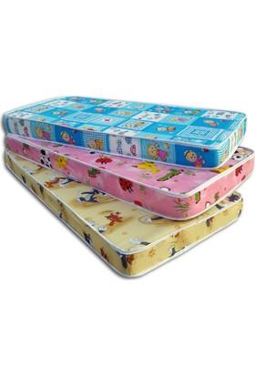 Mobpazar Bebek Yatağı 70X130X10 Cm Sünger Bebek Yatakları
