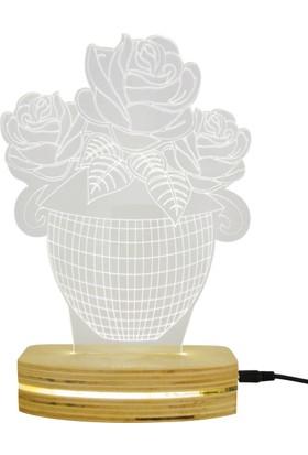 Asudehome 3D Led Lamba