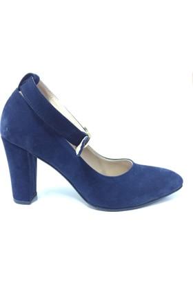 Stella di More 2328 Bilekten Bağlı Topuklu Kadın Ayakkabı
