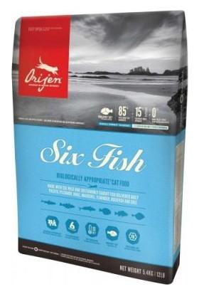 Orijen Six Fish Tahılsız Kedi Maması 5.4 Kg