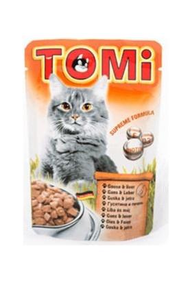 Tomi Kazlı Ve Ciğerli Yaş Kedi Maması 100Gr