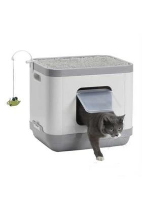 Moderna Cat Consept Çok Fonksiyonlu Yatak - Tırmalama - Tuvalet