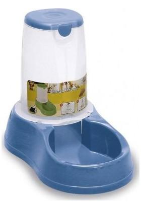 Stefanplast Saklamalı Mama Ve Su Kabı Mavi 3.5 Lt