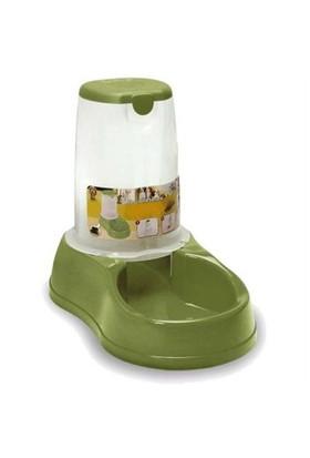 Stefanplast Saklamalı Mama Ve Su Kabı Yeşil 3.5 Lt