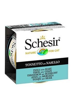 Schesir Ton Balığı Ve Barlem Balıklı Yaş Kedi Maması 85 Gr