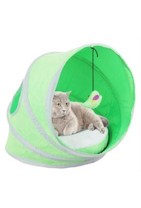 Pawise Kedi Çadırı Yataklı 38*38*43 Cm