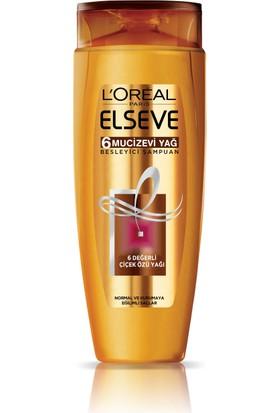 L'Oréal Paris Elseve 6 Mucizevi Yağ Besleyici Bakım Şampuanı 600 ml