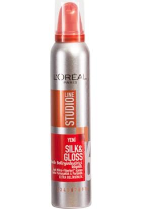 L'Oréal Paris Studio Line Silk & Gloss Bukle Belirginleştirici Köpük