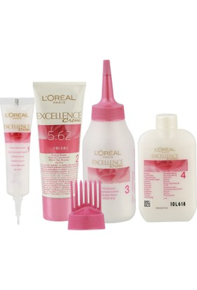L'oréal Paris Excellence Creme Saç Boyası 5.62 Nefis Kızıl Kahve