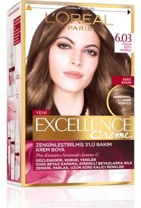 L'oréal Paris Excellence Creme Saç Boyası 6.03 Yoğun Koyu Kumral