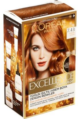Loreal Paris Excellence creme 7.43 Tarçın Bakırı Saç Boyası