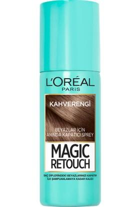 L'oréal Paris Magic Retouch Beyazlar İçin Anında Kapatıcı Sprey - KAHVERENGİ