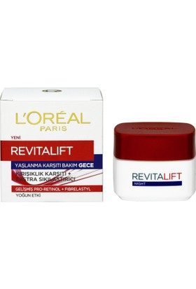 L'Oréal Paris Revitalift Yaşlanma Karşıtı Bakım Gece Kremi