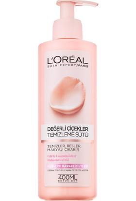 L'Oréal Paris Değerli Çiçekler Temizleme Sütü Normal ve Karma Ciltler
