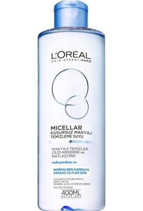 L'Oréal Paris Micellar Kusursuz Makyaj Temizleme Suyu Normal 400ML