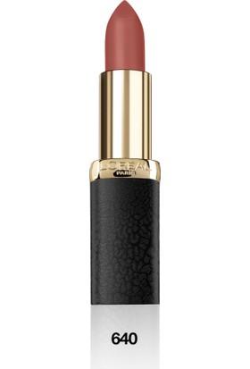 L'Oréal Paris Color Riche Matte Addiction Ruj 640 Erotique