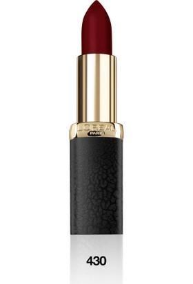 L'Oréal Paris Color Riche Matte Addiction Ruj 430 Mon Jules