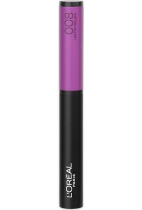 L'Oréal Paris Infaillible Matte Max Ruj 008 I GOTTA FEELING