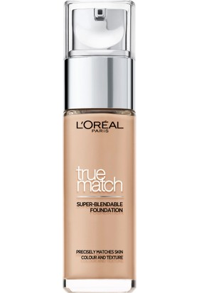 L'Oréal Paris True Match Fondöten 3R3C3K BEIGE ROSE