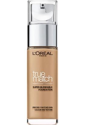 L'Oréal Paris True Match Fondöten 7D7W AMBRE DORE