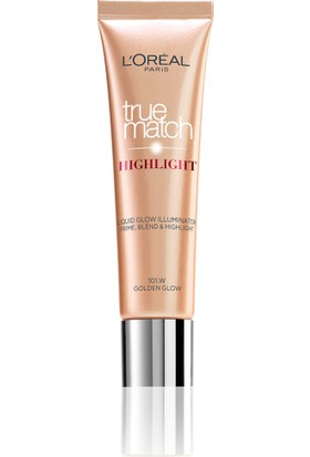 L'Oréal Paris True Match Highlight Aydınlatıcı 101D/101W Dore