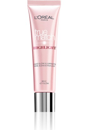 L'Oréal Paris True Match Highlight Aydınlatıcı 301R/301C Icy Glow