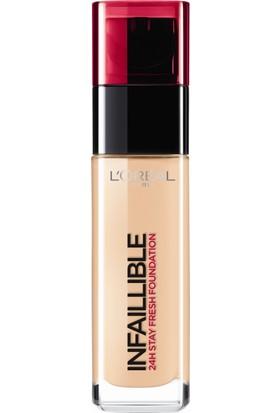 L'Oréal Paris Infaillible 24H Fondöten 145 BEIGE ROSE