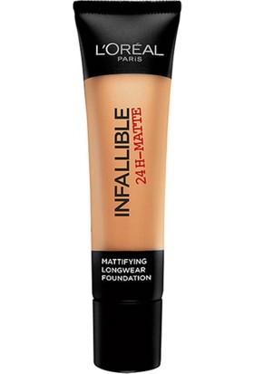 L'Oréal Paris Infaillible 24H Matte Fondöten 12 NATURAL ROSE