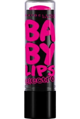 Maybelline New York Baby Lips Electro Nemlendirici Dudak Balmı - 01 Pink Shock