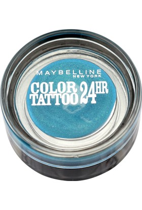 Maybelline New York Color Tattoo 24H Göz Farı 20 Turquoise For