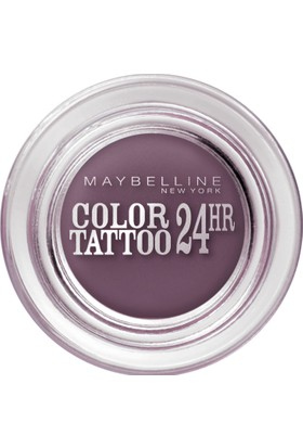 Maybelline New York Color Tattoo 24H Creamy Mattes Göz Farı - 97 Vintage Plum