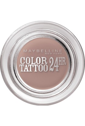 Maybelline New York Color Tattoo 24H Creamy Mattes Göz Farı - 98 Creamy Beige