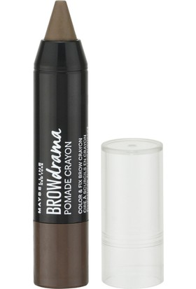 Maybelline New York Brow Drama Pomade Crayon - 04 Dark Brown