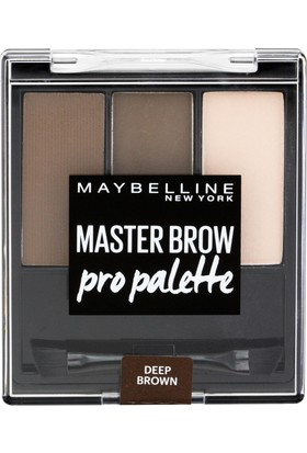 Maybelline New York Master Brow Pro Palette - 04 Deep Brown