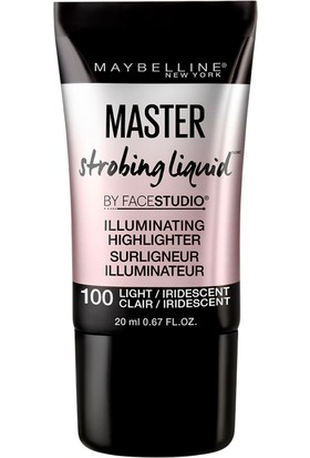 Maybelline New York Master Strobing Liquid Aydınlatıcı - 100 Light/Iridescent