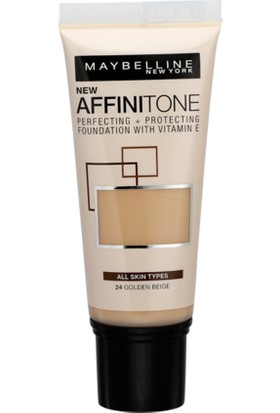 Maybelline New York Affinitone Fondöten 24 Golden Beige