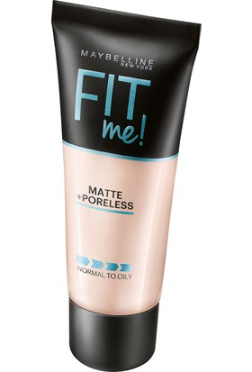 Maybelline New York Fit Me Matte+Poreless Fondöten 110 Porcelain