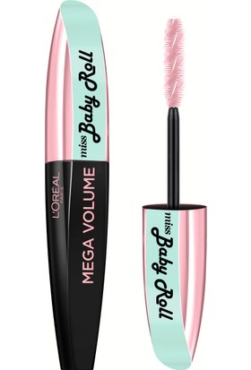 Loreal Paris Mega Volume Miss Baby Roll Mascara Black
