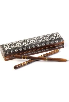 Soppigo Ahşap Kalem Seti - Hediye Kalem Seti - Kişiye Özel Kalem Seti - Versiyon 2