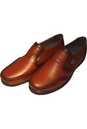 Güler Kahverengi Cilt Açma Deri Kışlık Erkek Ayakkabı