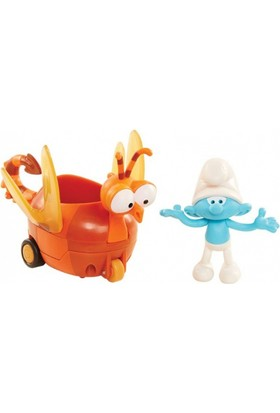Neco Toys Şrn - 30872 Şirinler Figür + Araç Seti - Şirinler Kayıp Köy Filmi +4 Yaş