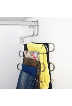 Pratik Pantalon ve Eşarp Askısı - 2 Adet
