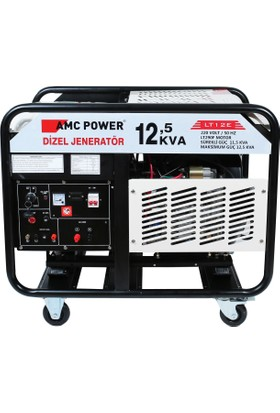 Amc Power 12,5 Kva Dizel Jeneratör 220 Volt