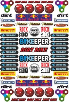Stickermarket Bisiklet Sticker Seti