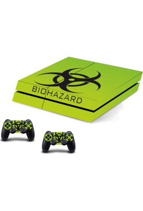 Stickermarket PS4 Fat Biohazard Sticker Seti