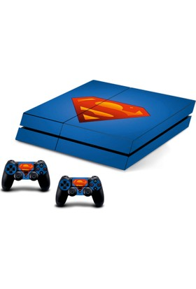 Stickermarket PS4 Fat Superman Sticker Seti